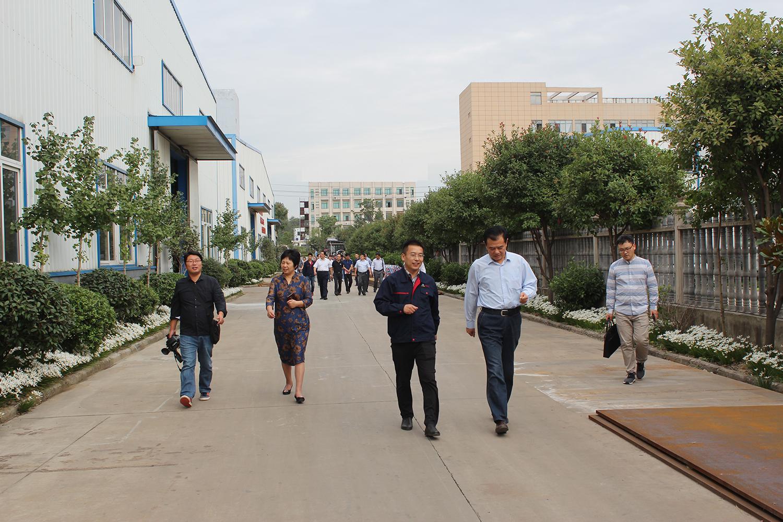 肥西县政协领导一行莅临安徽宇锋公司指导工作
